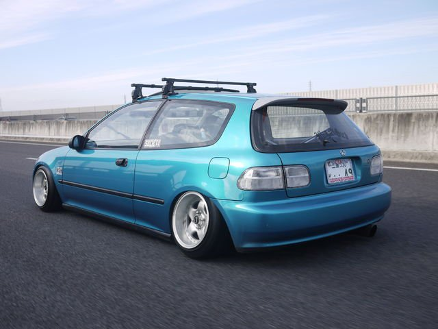 feature kohtaro iwasa s 1995 honda civic hatchback. Black Bedroom Furniture Sets. Home Design Ideas